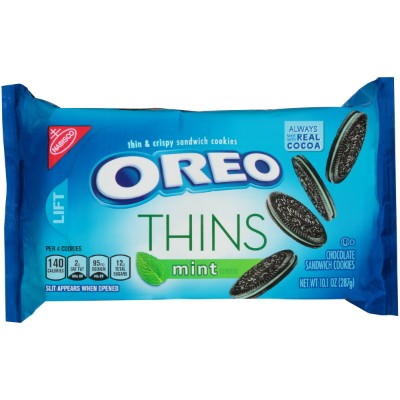 NABISCO OREO THIN MINT CREME