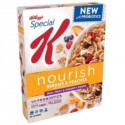 KELLOGG'S SPECIAL K NOURISH BERRIES PEACHES CEREAL