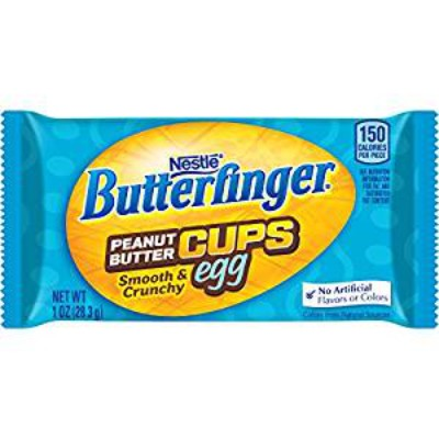 BUTTERFINGER PEANUT BUTTER CUPS EGG
